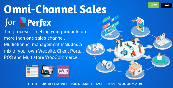 ✨Omni Channel Sales for Perfex CRM Nulled