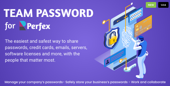 ✌Team Password for Perfex CRM Nulled
