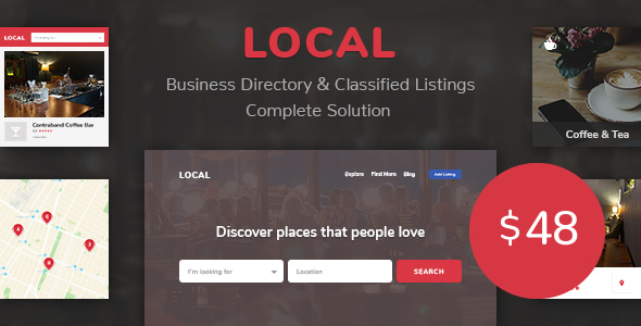 ✨Business Directory Store Finder | Local Nulled