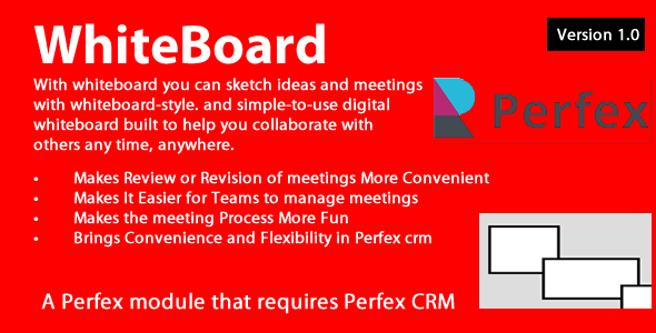 ✨Whiteboard module for Perfex CRM Nulled