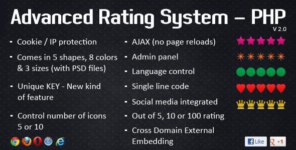 ✨Advanced Rating System – PHP Nulled