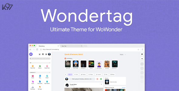 ✨Wondertag – The Ultimate WoWonder Theme Nulled