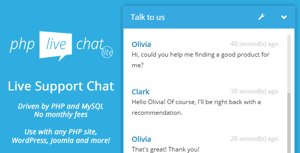 ✨Customer Chat – PHP Live Support Chat Lite Nulled