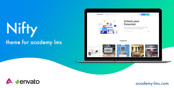 ✅ Nifty – Academy LMS Theme Nulled