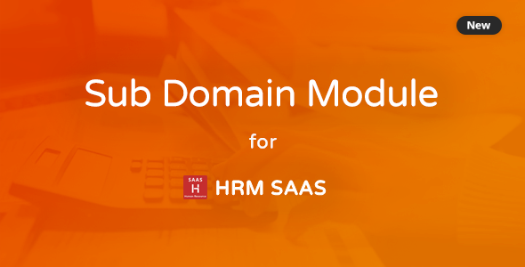 ✅ Subdomain Module for HRM SAAS Nulled