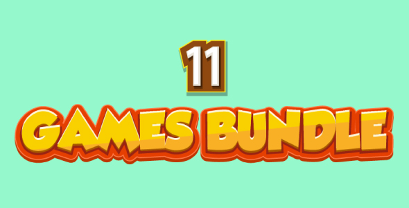 ✌Bundle N°2 : 11 HTML5 Games – Web & Mobile + AdMob (CAPX, C3p and HTML5) & MORE Than 85% OFF Nulled