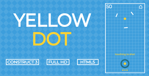 ✌Yellow Dot – HTML5 Game (Construct3) Nulled