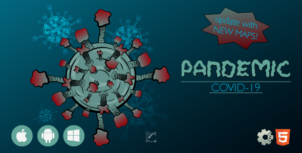 ✨Pandemic Covid-19 • HTML5 + C2 Game Nulled