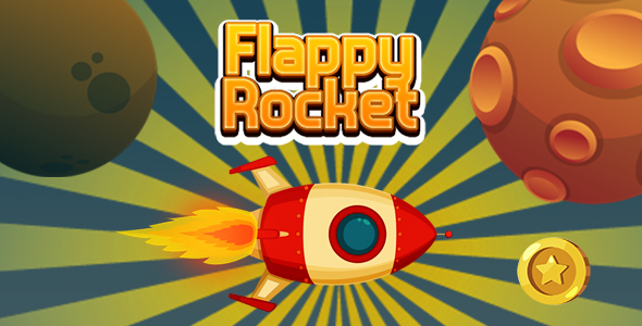 ✅ Flappy Rocket with Collect Coins (CAPX and HTML5) Nulled