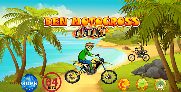 ✅ Motocross Action with GDPR+64 Bits(Android Studio)- the addition of admob is on demand for free Nulled