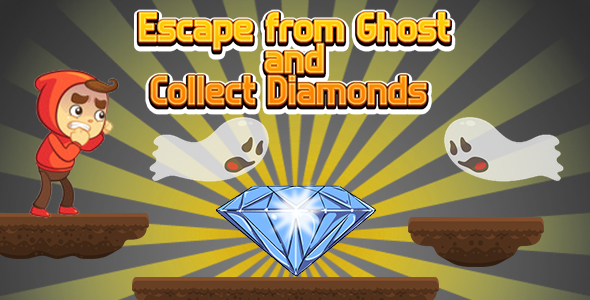 ✌Escape from Ghost and Collect Diamonds (CAPX and HTML5) Nulled