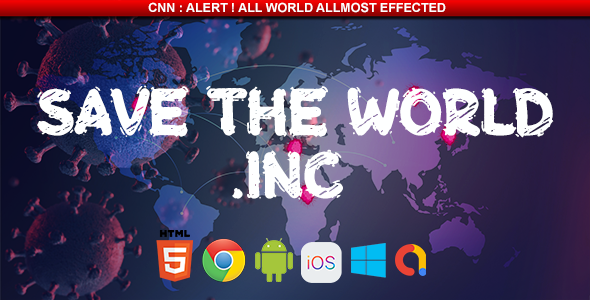✨Covid-19 Game Save The World Inc. – HTML5 Game Nulled