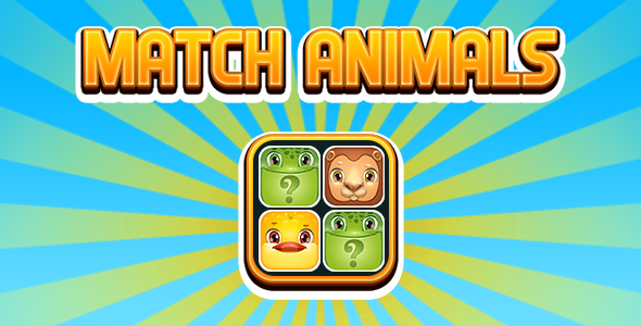 ✌Match Animals (Memory Matching) (CAPX and HTML5) Nulled