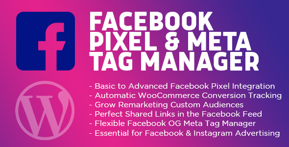 ✅ Facebook Pixel & Meta Tag Manager for WordPress Nulled