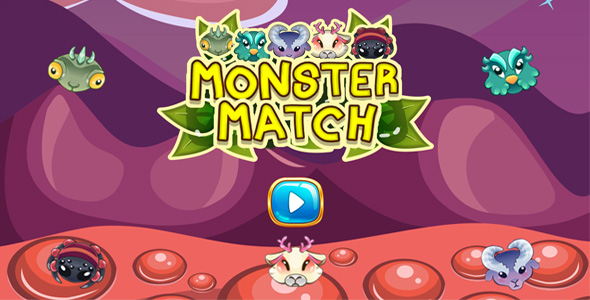 ✨Monster Match Construct 2 – 3 + Admob Documentation Nulled