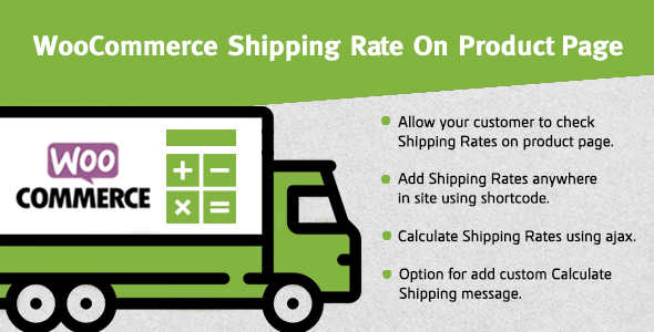 ✅ WooCommerce Shipping Rate On Product Page Nulled