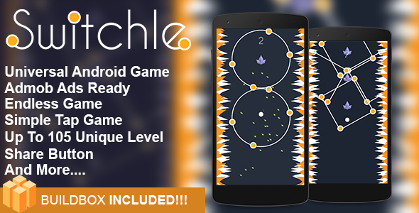 ✨Switchle  – Addictive Game Android Game Template Eclipse Project Nulled