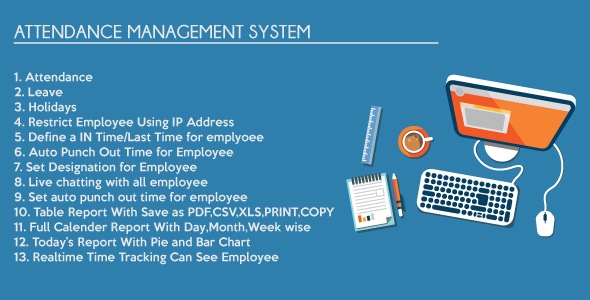 ✌Employee Attendance Management System Nulled