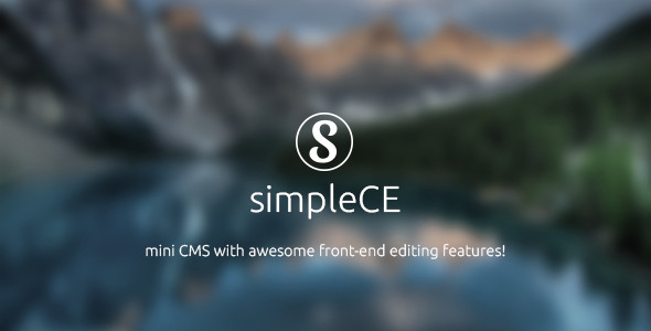 ✨simpleCE v.2 – mini CMS Nulled