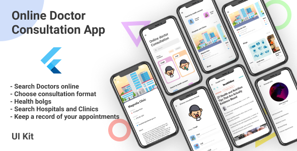 ✌Doctor Consultation App with Web Admin Panel and CMS Nulled