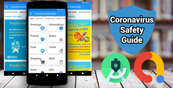 ✨Coronavirus (COVID-19) Safety Guide – Live News + Real time Map + Real time Stats + AdMob Nulled