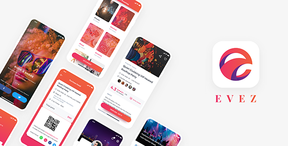 ✌Evez – Event React Native App Template Nulled