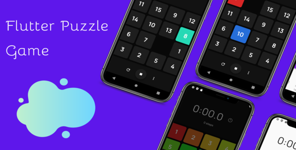 ✅ Flutter Puzzle Game Nulled