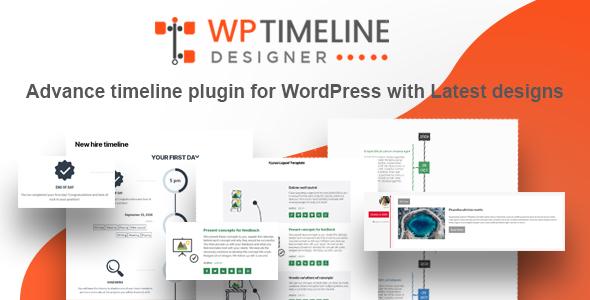 ✨WP Timeline Designer Pro – WordPress Timeline Plugin Nulled