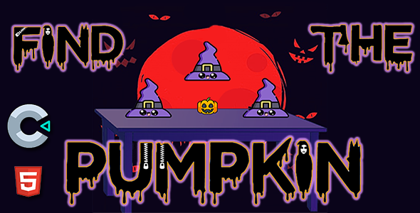 ✅ Find The Pumpkin – HTML5 Mobile Game Nulled
