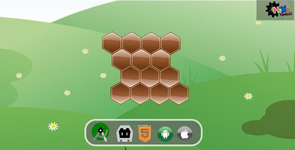 ✌Hexa Puzzle HTML5 Desktop & Mobile Game Nulled