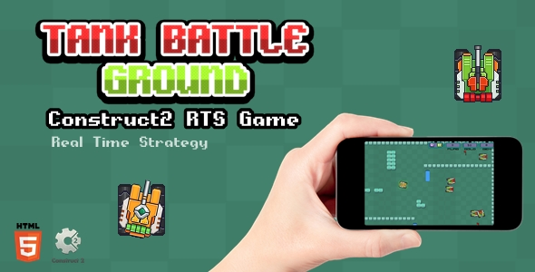 ✨Tank Battle Ground – Html5 Game Nulled