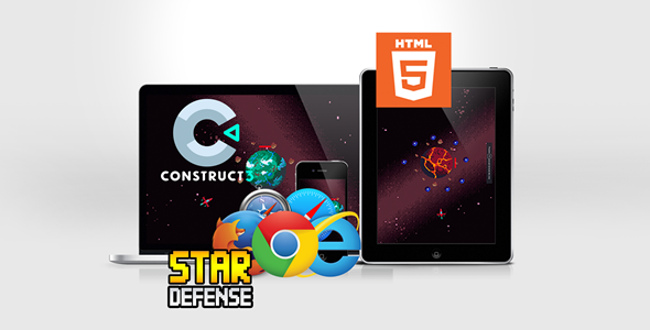 ✨Star Defense HTML5 Game Nulled