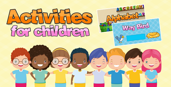 ✌Activities for children Nulled