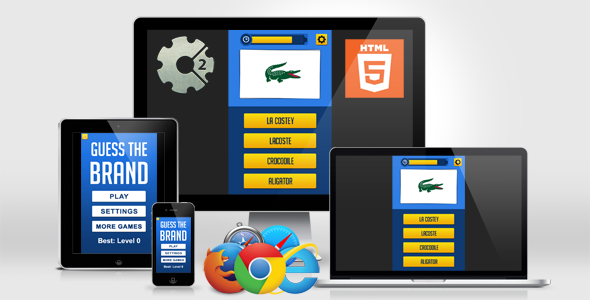 ✅ Guess the Brand – HTML5 Quiz Game Nulled
