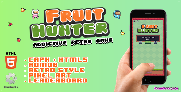 ✅ Fruit Hunter – Html5 Game Nulled