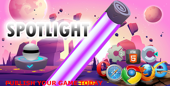 ✅ SpotLight-    HTML5 Construct 2 and Construct 3 Nulled