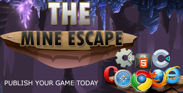 ✅ The Mine Escape –  | HTML5 Construct 2 and Construct 3 Nulled