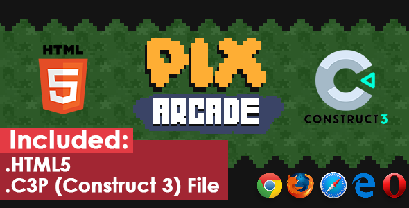 ✅ Pix Arcade – HTML5 Game Nulled