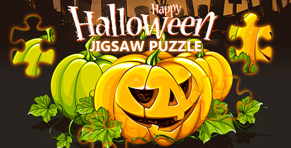 ✅ Happy Halloween Jigsaw Puzzle Game (CAPX and HTML5) Nulled