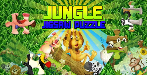 ✨Jungle Jigsaw Puzzle Game (CAPX and HTML5) Nulled