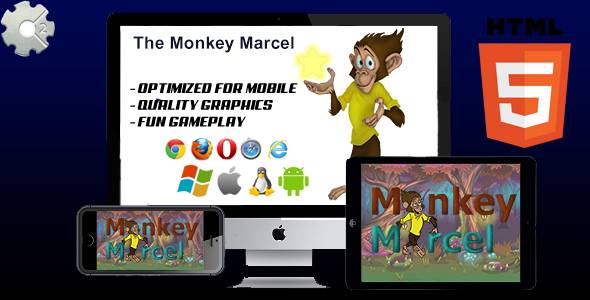 ✨The Monkey Marcel – HTML5 Game (capx) Nulled