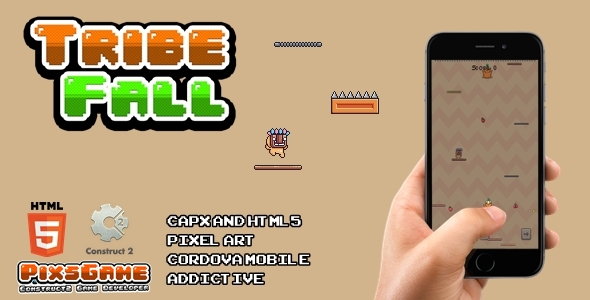 ✌Tribe Fall – Html5 Game Nulled