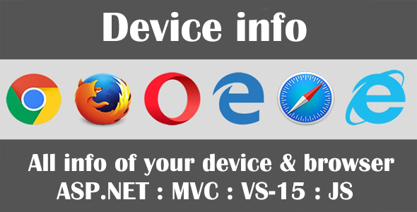 ✌Device Info – Web Browser Security Testing Tool Nulled