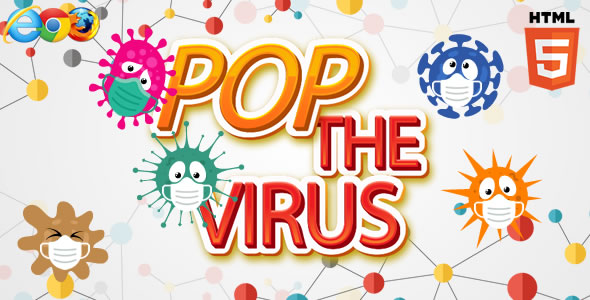 ✨Pop the Virus – HTML5 Game (capx) Nulled