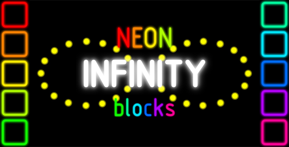 ✨Infinity Neon Blocks – HTML5 PC & Mobile Game (Construct 2-3) Nulled