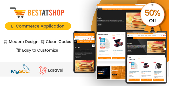 ✅ Bestatshop – Online Ecommerce Shopping Script with Admin Panel (Web + Ionic Android & IOS apps) Nulled
