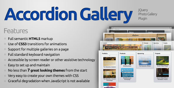 ✅ Accordion Gallery Nulled