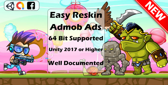✨Super Jungle Adventure – Full Unity Game ADMOB ADS Nulled
