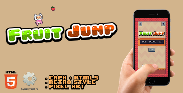 ✌Fruit Jump – Html5 Game Nulled