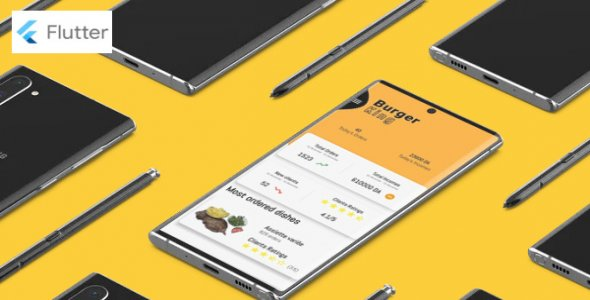 ✅ Flutter food ordering  app Nulled